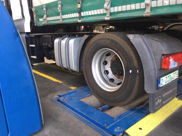 Inspection and brake test